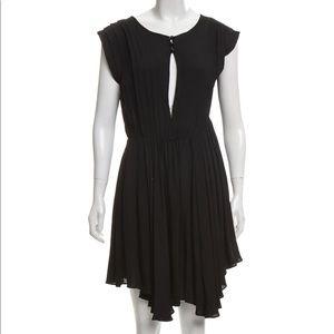 Alexander Wang Pleated Asymmetrical Dress